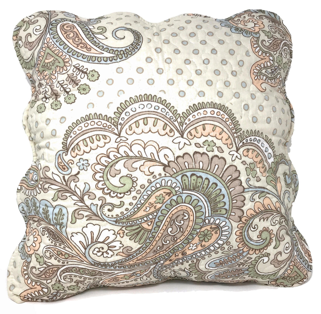 Cushion Cover - Tache 2 PC Set 100% Cotton French Golden Garden Cushion Cover/Shell