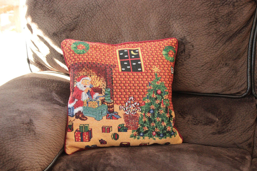 Tache Festive Holiday Last Minute Preparations Cushion Cover (DB11869CC-1616) - Tache Home Fashion