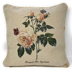 Tache Golden Summer Rose Throw Pillow Cushion Cover (CC-342) - Tache Home Fashion