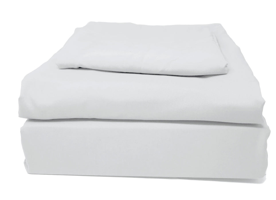 Tache 2-3 Piece Solid Cloud White Duvet Cover Set (505-CW-DS) - Tache Home Fashion