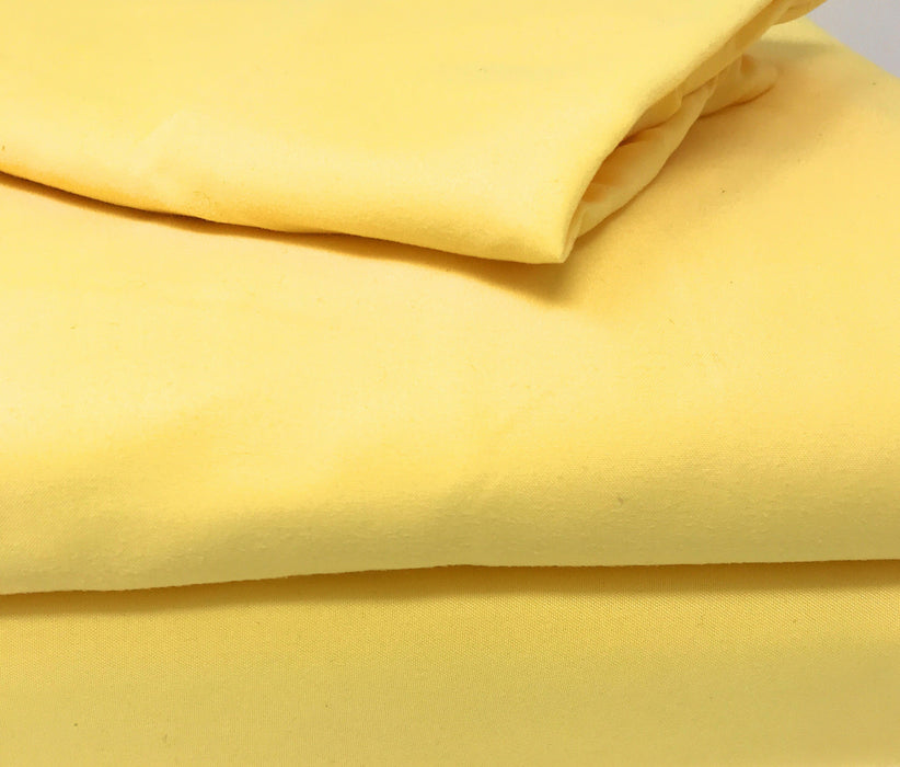 Tache 2-3 Piece Sunny Yellow Duvet Cover Set (TA404-YS-DS) - Tache Home Fashion