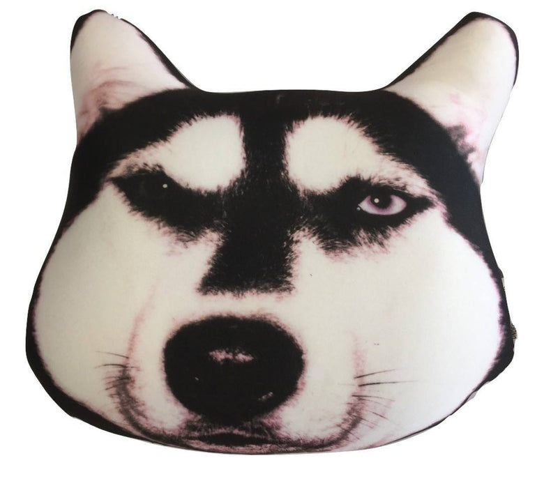 Microbead Pillows - Tache Squishy Cute Dog Micro Bead Realistic Throw Pillow