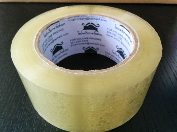 Packing Tape - Tache 72 Rolls Clear Acrylic Sealing Packing Tape 1.89 Inches X 110 Yard X 1.89 MIL