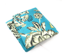 Tache Butterfly Wonderland Cotton Aqua Floral Pillowcases (2142-PC) - Tache Home Fashion