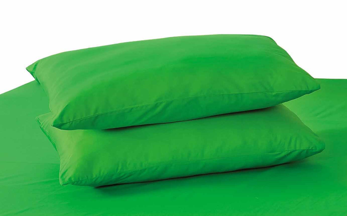Tache Dark Green Cotton Pillowcase (10012DG) - Tache Home Fashion