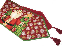 Tablerunners - Tache Santa Clause Is Coming To Town Table Runners