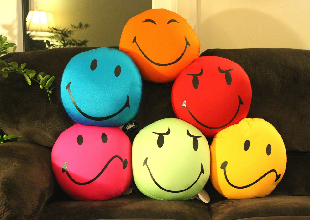 Tache Bunch of Smiles Micro Bead Pillow - Tache Home Fashion