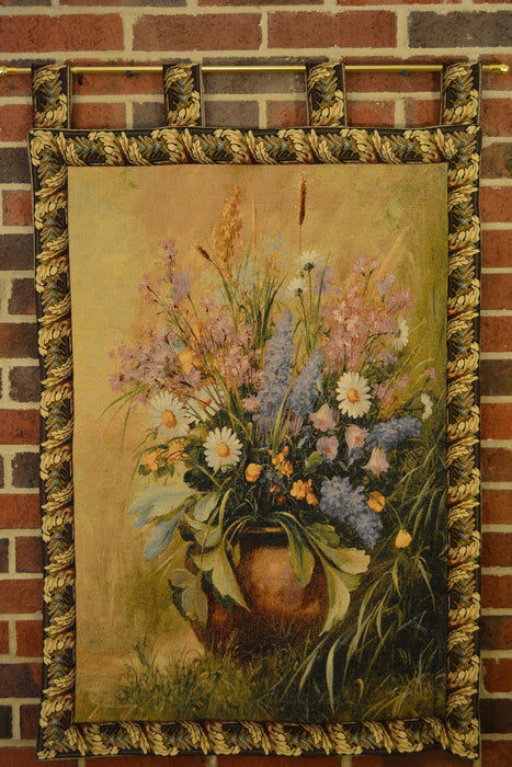 Tache 33 x 24 Inch Beautifully Captured Floral Tapestry Wall Hanging (WH-13058) - Tache Home Fashion