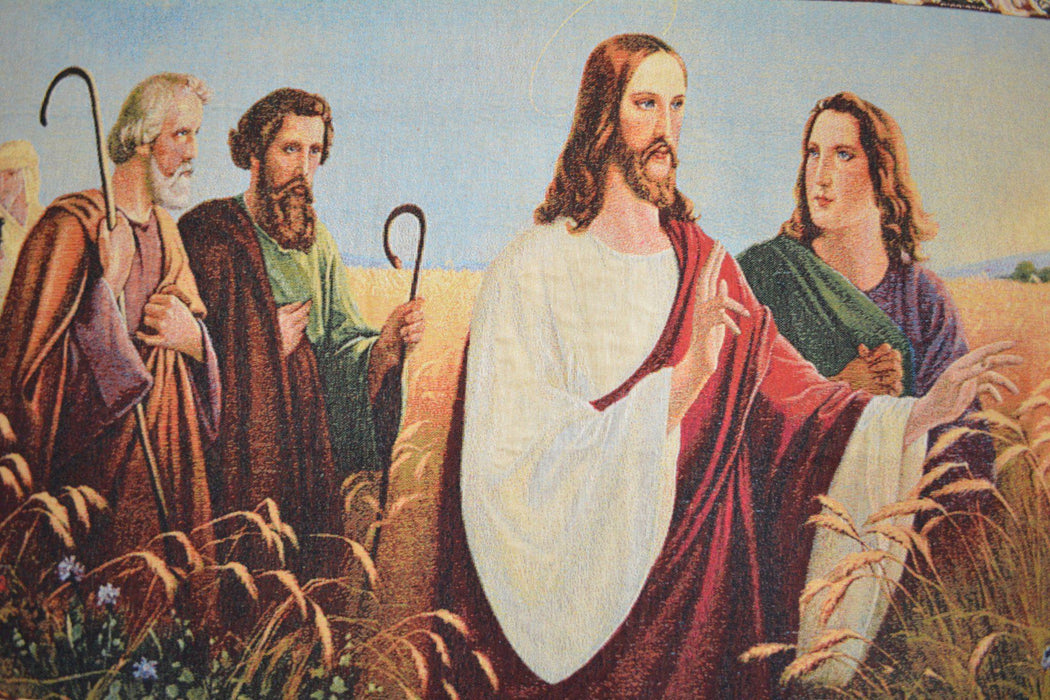 Tache 43 x 23 The Apostles Tapestry Woven Wall Hanging Art (12932) - Tache Home Fashion