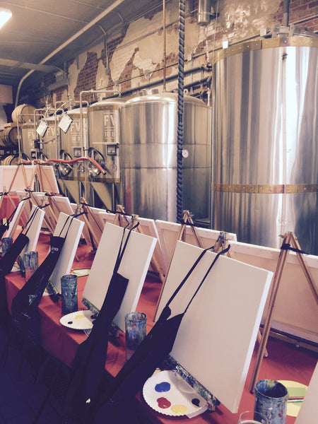 "Painting and Pints: ""Colorado Brewed"" at Loveland Aleworks"