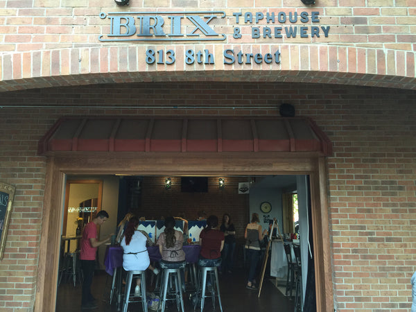 "Painting and Pints: ""Garnet Petals"" at Brix Taphouse & Brewery (Greeley)"