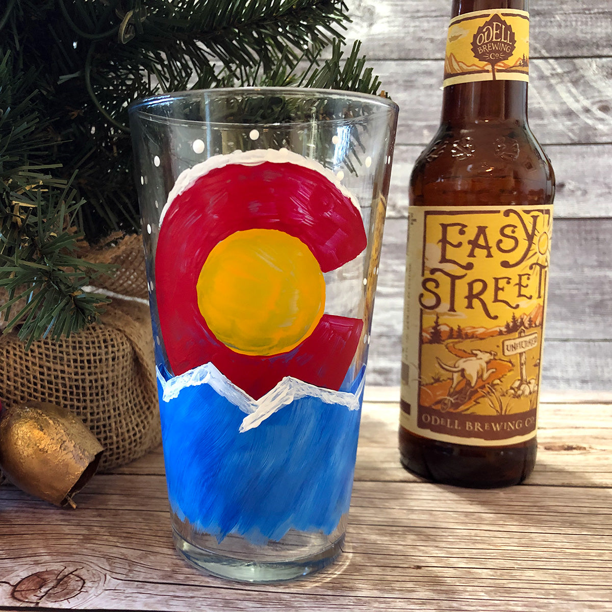 """Pint Glass for One"" Paint-at-Home Kit"