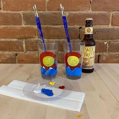 Colorado Pint Glass Paint at Home Kit