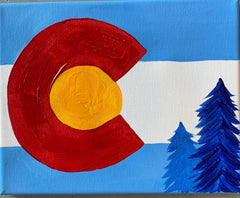 Colorado 8X10 Paint at Home Kit