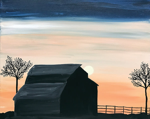"Painting and Pints: ""Country Moon"" at City Star Brewing (Berthoud)"