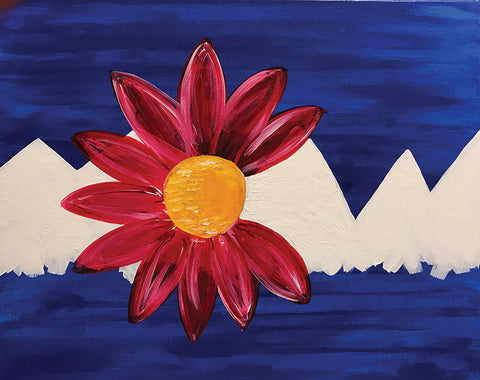"Painting and Pints: ""Colorado Bloom"" at Big Thompson Brewery"