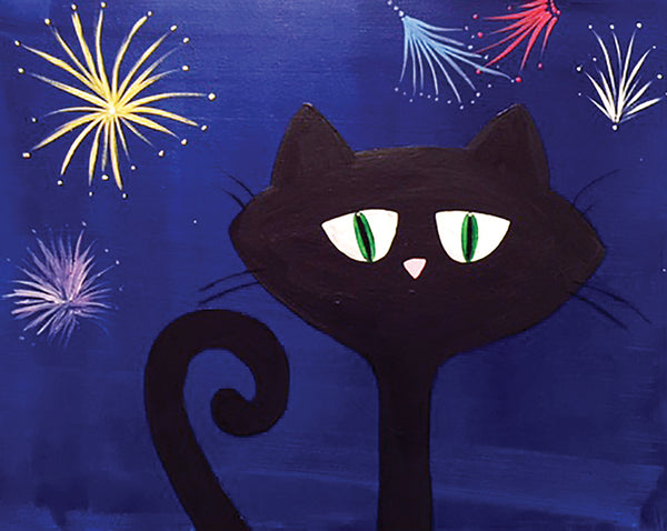 Fireworks Kitty