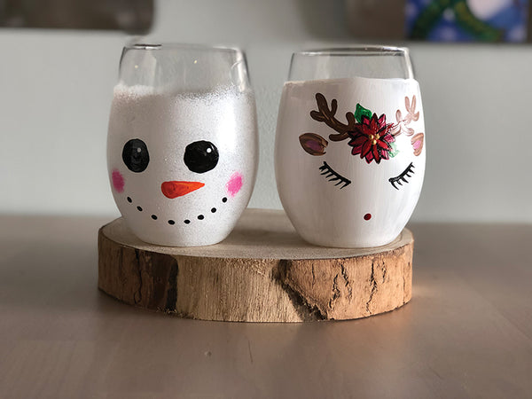 Holiday Wine Glass Fundraiser