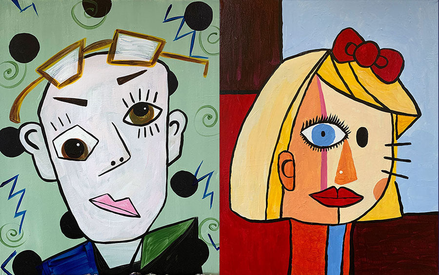 Paint Your Mate: Picasso Style! Paint-at-Home Kit