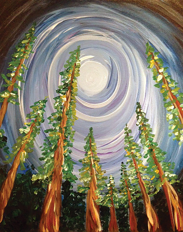 "Painting and Pints: ""Tall Trees"" at Loveland Aleworks"