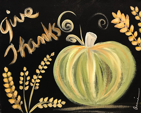 "Painting and Pints: ""Give Thanks"" at Big Thompson Brewery"