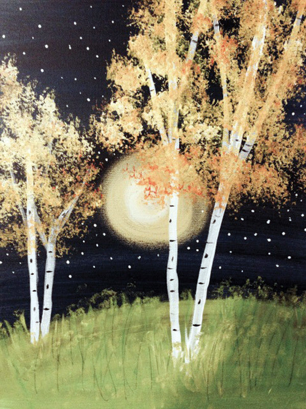 "Painting & Pints: ""Moonrise"" at Brix Taphouse & Brewery (Greeley)"