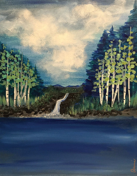 "Painting and Pints: ""Mountain Stream"" at City Star Brewing (Berthoud)"
