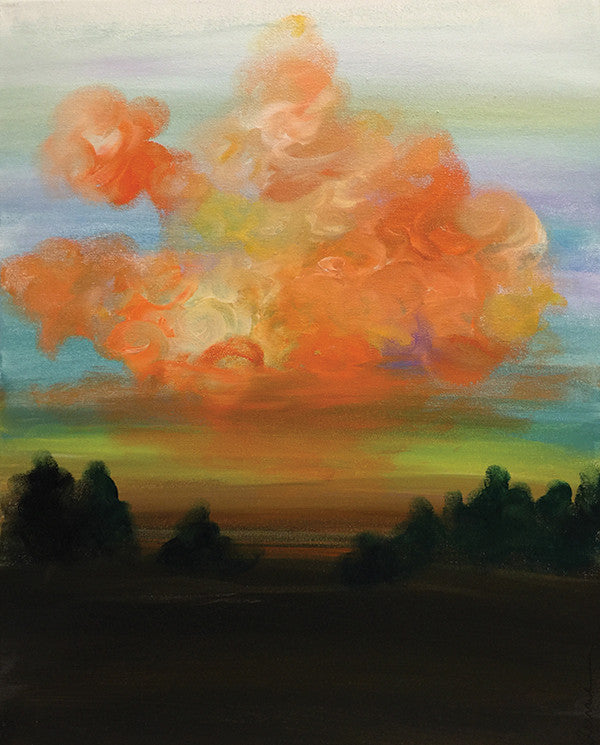 "Painting and Pints: ""Orange Sky"" at Verboten Brewing"