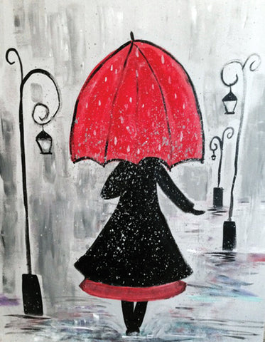 "Painting and Pints: ""Rainy Day"" at Loveland Aleworks"
