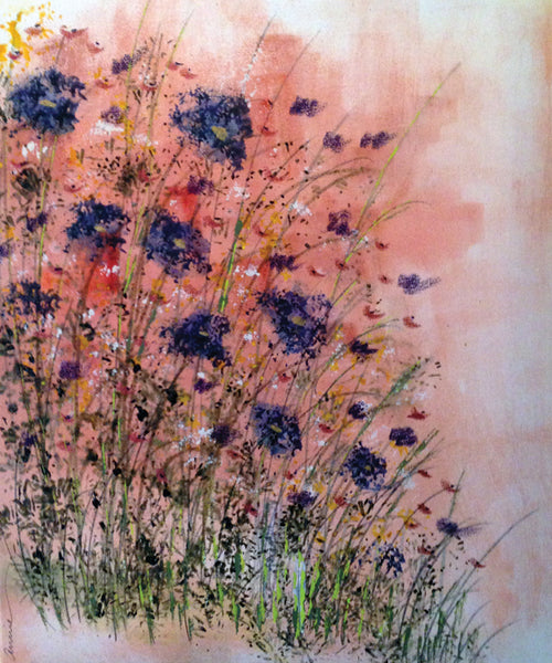 "Painting and Pints: ""Wildflowers"" at Mighty River Brewing"