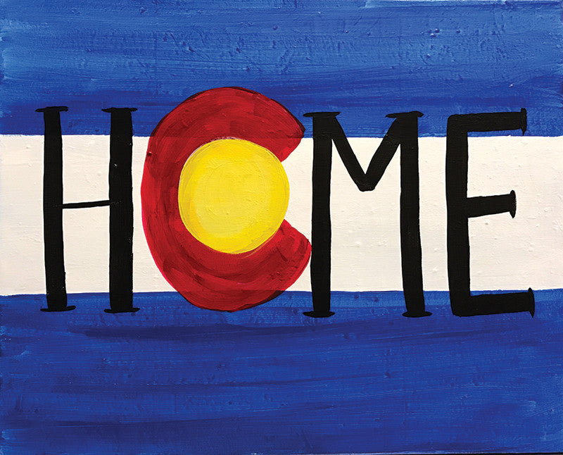 "Painting and Pints: ""CO Home"" at Verboten Brewing"