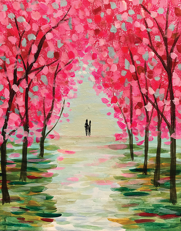 "Painting and Pints: ""Spring Stroll"" at Verboten Brewing"