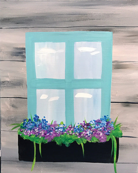 "Painting and Pints: ""Window Blooms"" at Big Thompson Brewery"