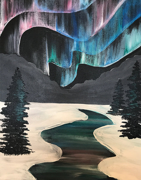 Mountain Aurora