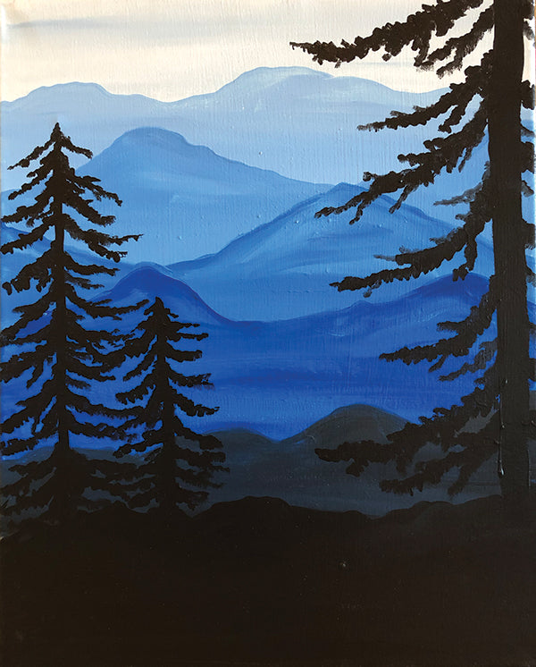 "Painting and Pints: ""Forest View"" at Verboten Brewing"
