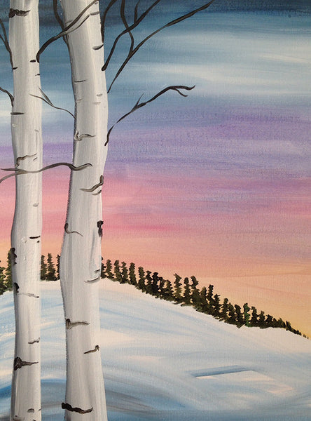 "Painting and Pints: ""Aspen View"" at City Star Brewing (Berthoud)"