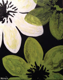 "Painting & Pints: ""Black & Blooms"" at Brix Taphouse & Brewery (Greeley)"