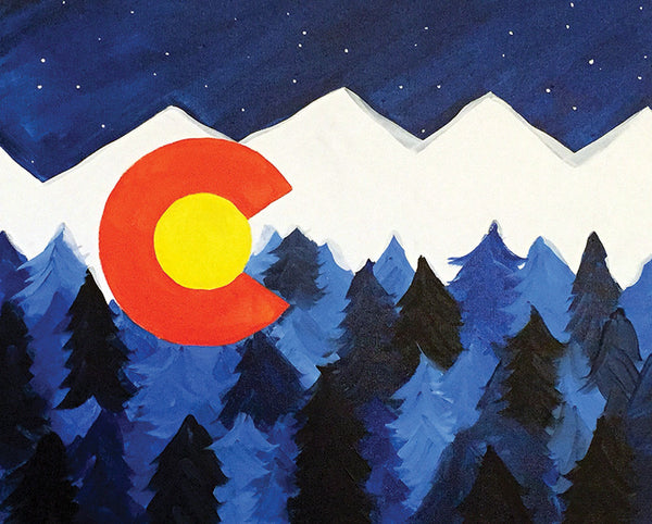 "Painting and Pints: ""From Colorado"" at Brix Taphouse & Brewery (Night Two!)"