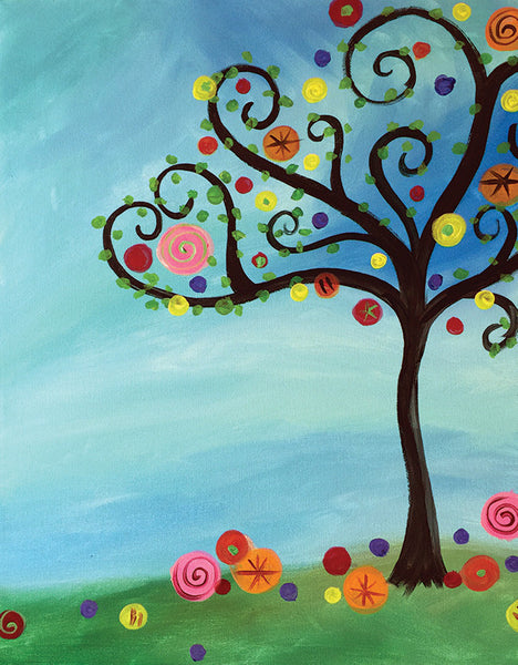 "Painting & Pints: ""Funky Tree"" at Brix Taphouse & Brewery (Greeley)"