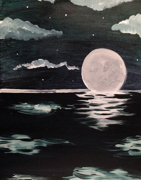 "Painting & Pints: ""Moonlit Waters"" at Brix Taphouse & Brewery (Greeley)"