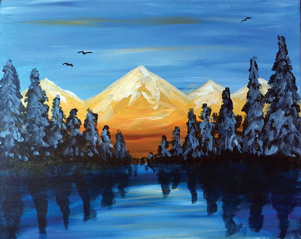 "Painting and Pints: ""Colorado Beauty"" at Verboten Brewing"