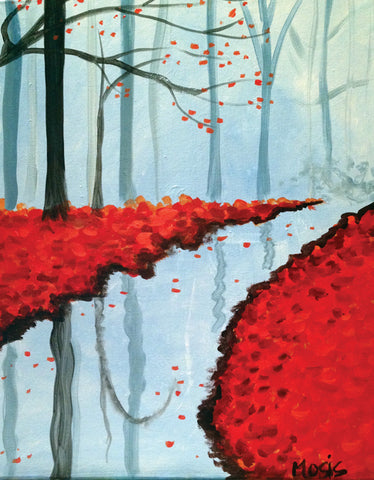 "Painting and Pints: ""Reflections"" at Dratz Brewing"