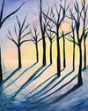 "Painting & Pints: ""Snow Shadows"" at Brix Taphouse & Brewery (Greeley)"
