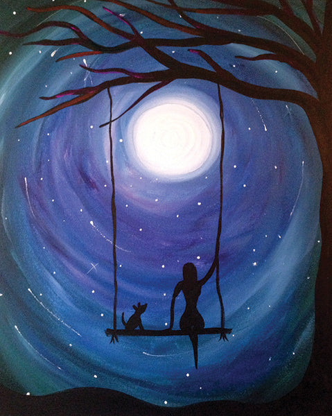 "Painting & Pints: ""Upon a Star"" at Brix Taphouse & Brewery (Greeley)"