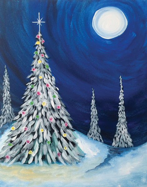 "Traveling Studio: ""Tree Lights"" at The Tavern in Greeley"