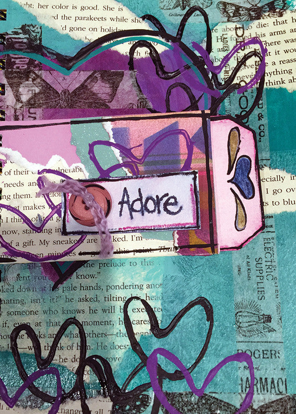 Thursday ARTful Journaling: Adore