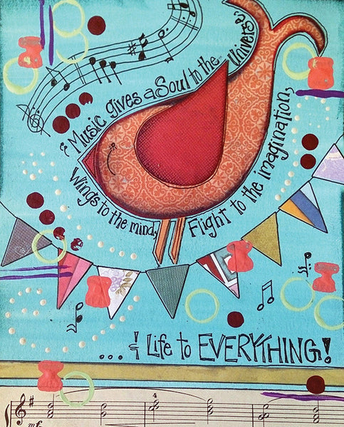ARTful Journaling: Songbird
