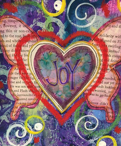 Saturday ARTful Journaling: Joy