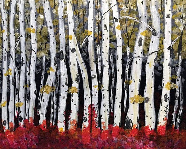 "Painting and Pints: ""Fall Fantasy"" at Big Thompson Brewery"
