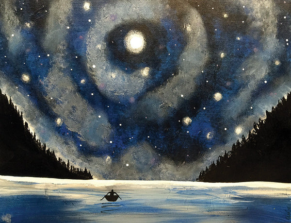 "Painting & Pints: ""Starry Sky"" at Brix Taphouse & Brewery (Greeley)"